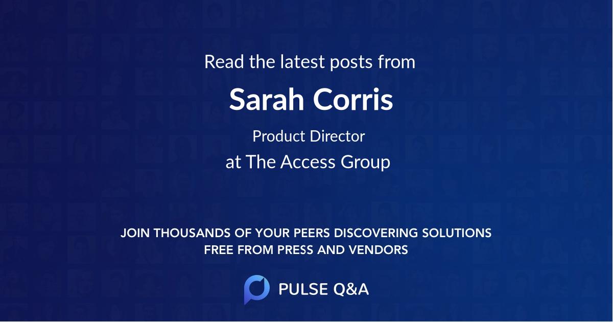 Sarah Corris