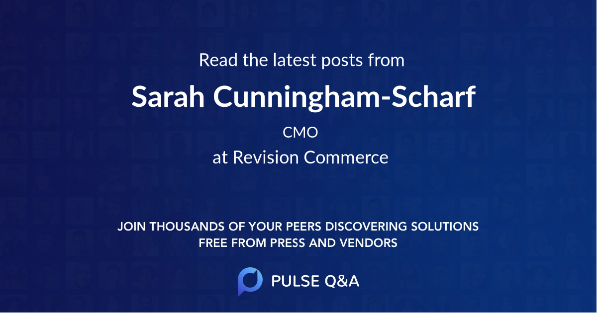 Sarah Cunningham-Scharf