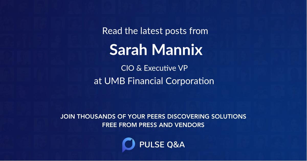 Sarah Mannix