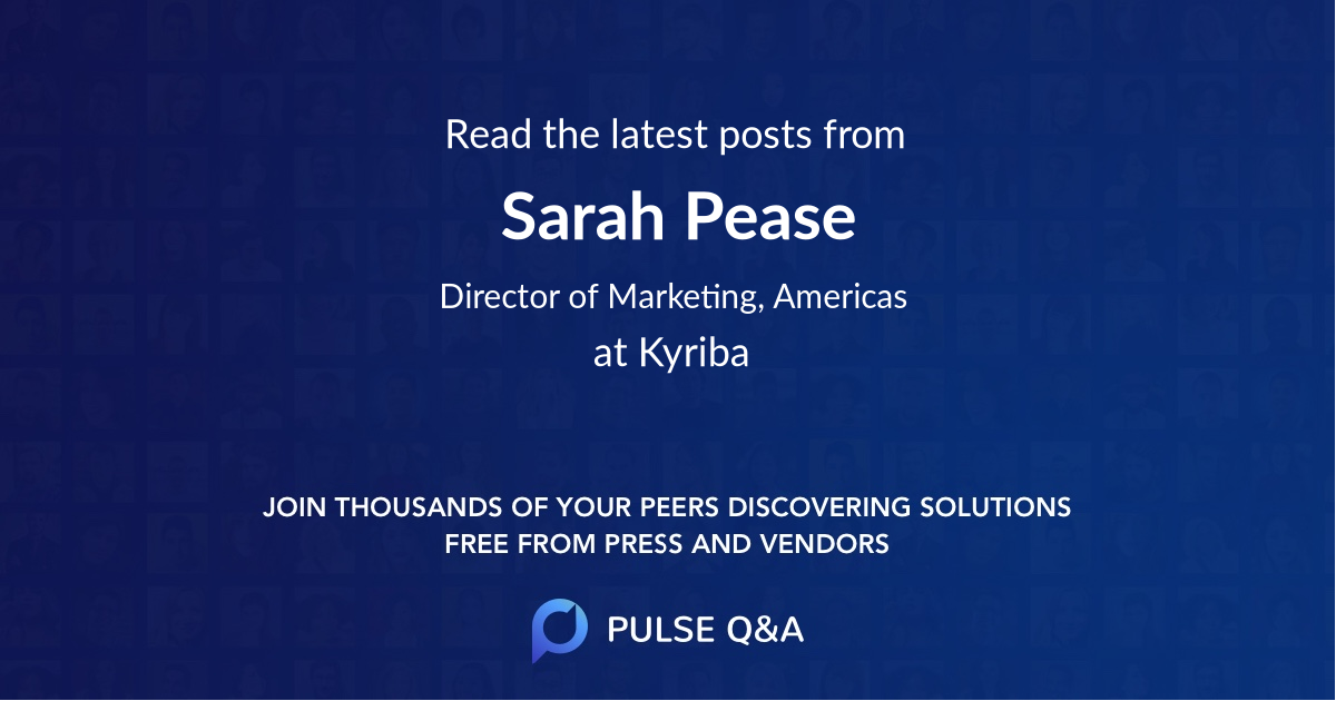 Sarah Pease