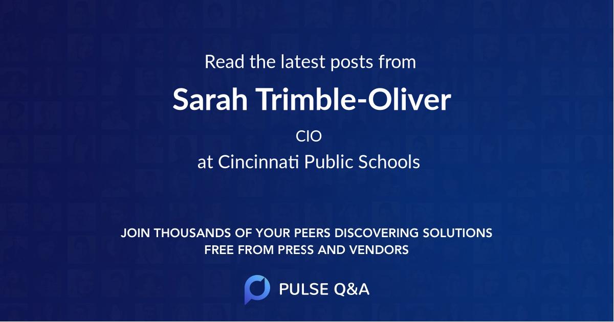 Sarah Trimble-Oliver