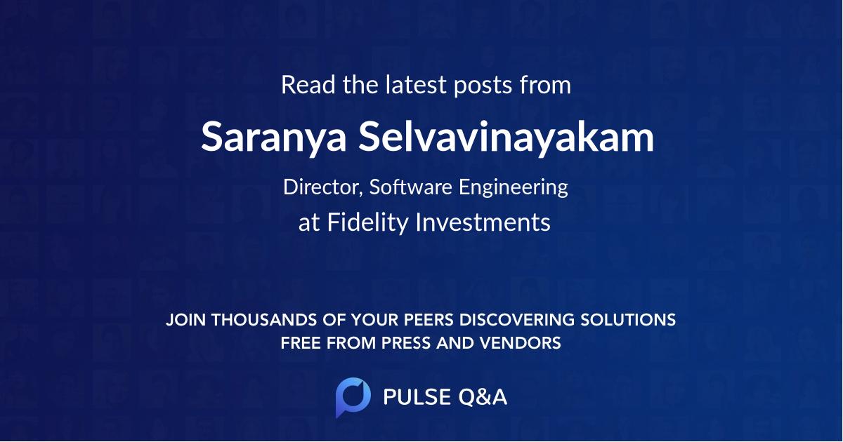 Saranya Selvavinayakam