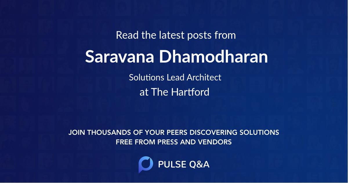 Saravana Dhamodharan