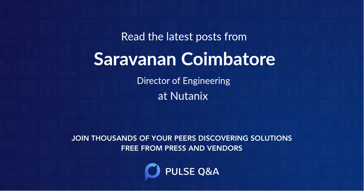 Saravanan Coimbatore