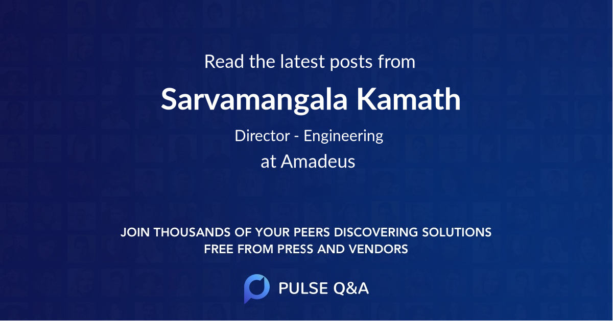 Sarvamangala Kamath
