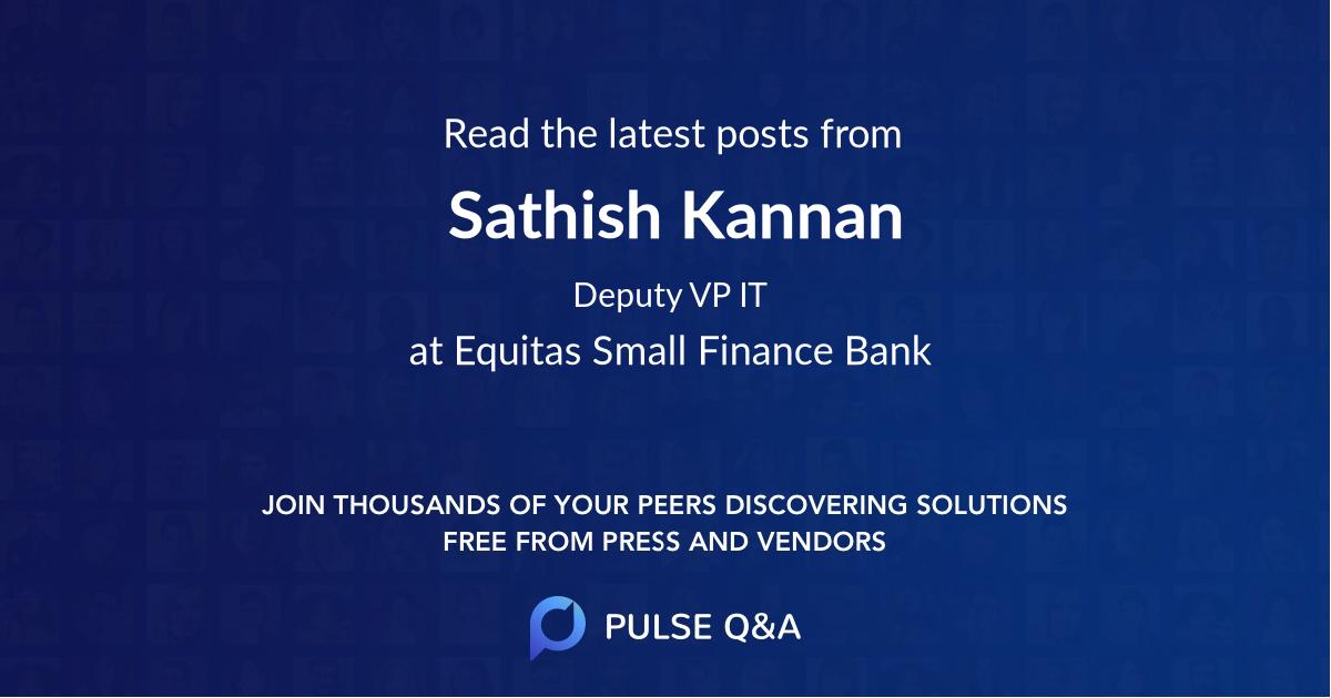 Sathish Kannan
