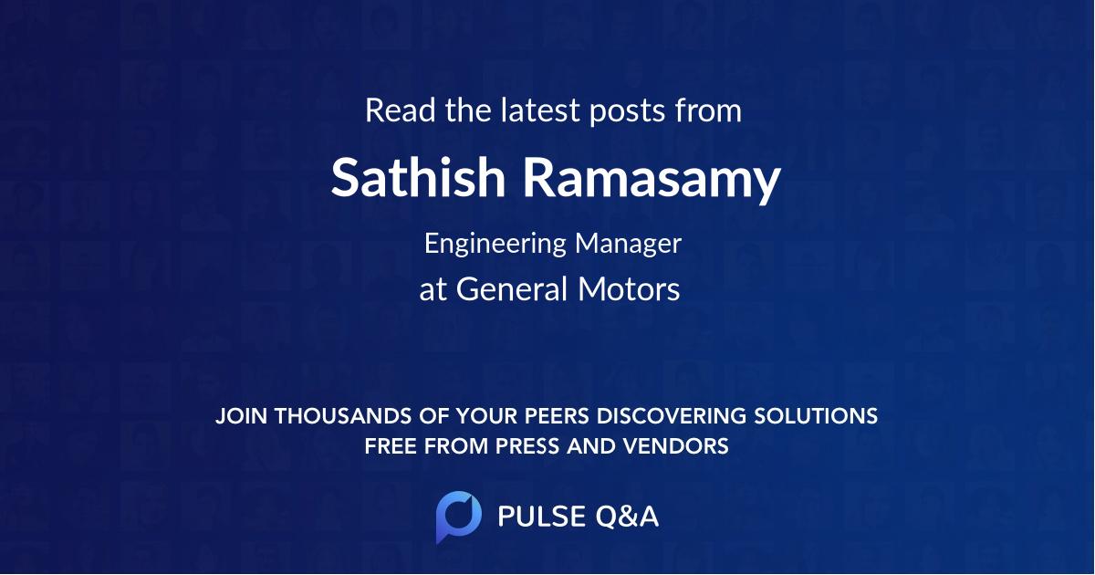Sathish Ramasamy