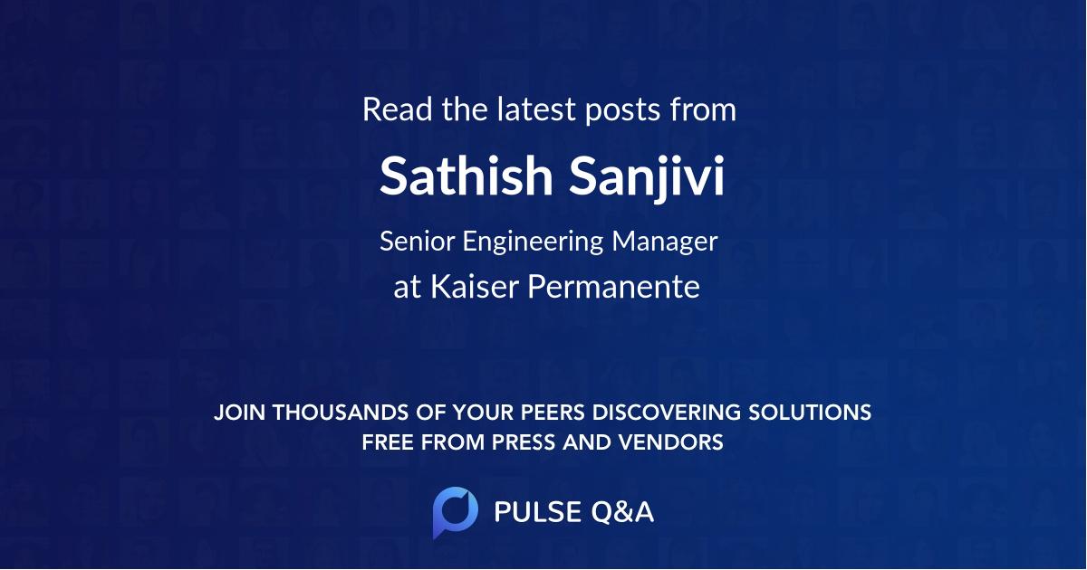 Sathish Sanjivi