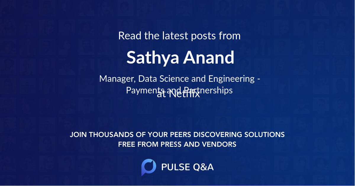 Sathya Anand