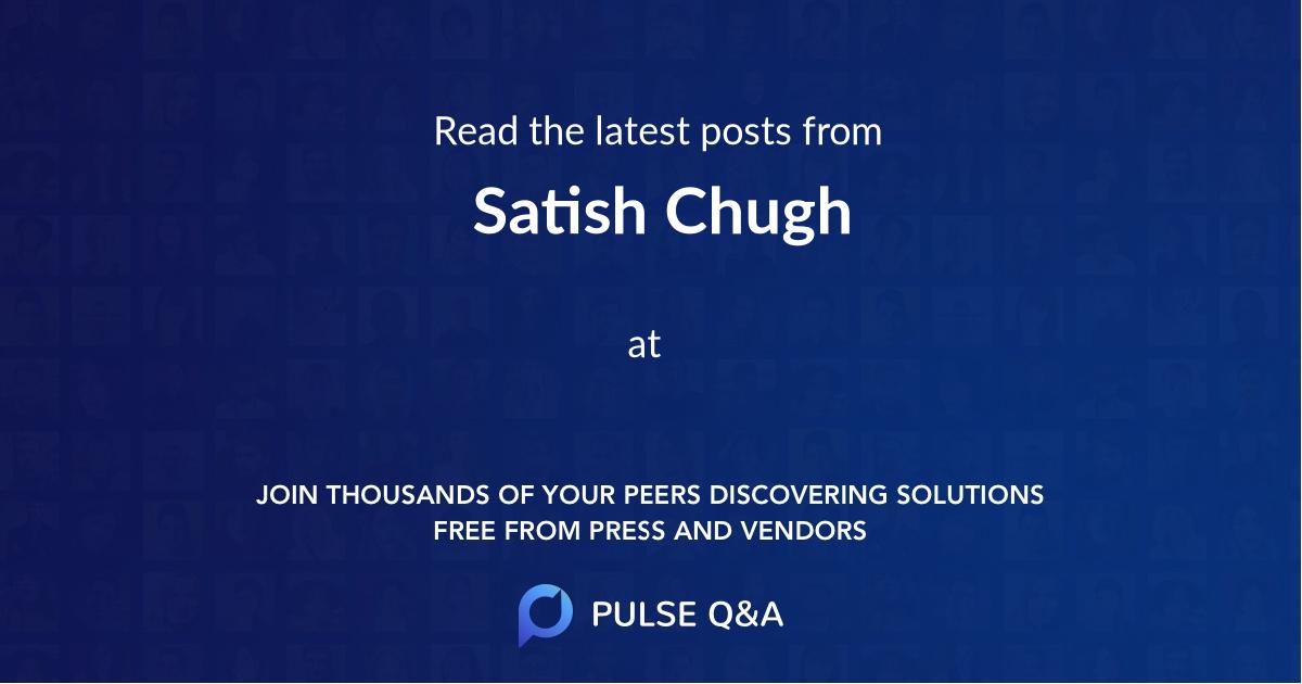 Satish Chugh
