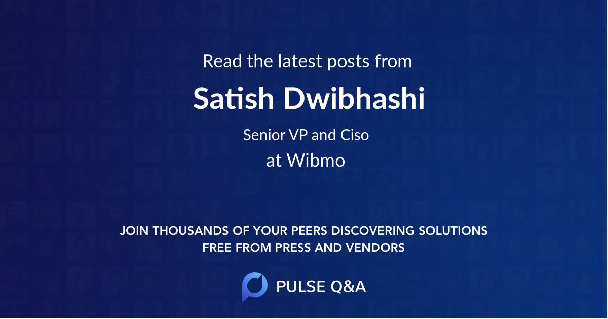 Satish Dwibhashi
