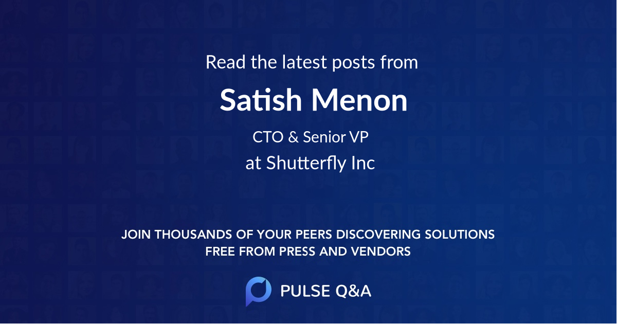 Satish Menon