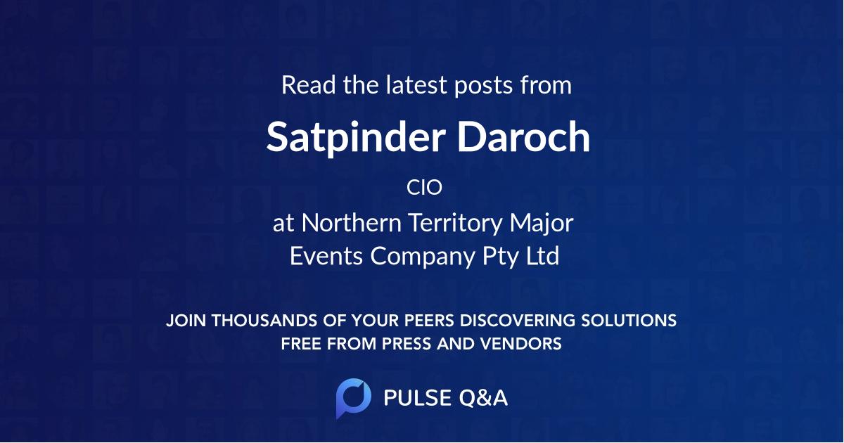 Satpinder Daroch