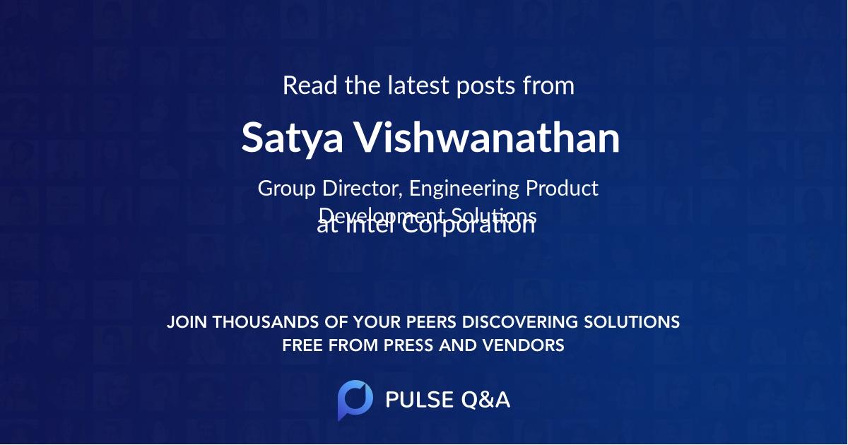 Satya Vishwanathan