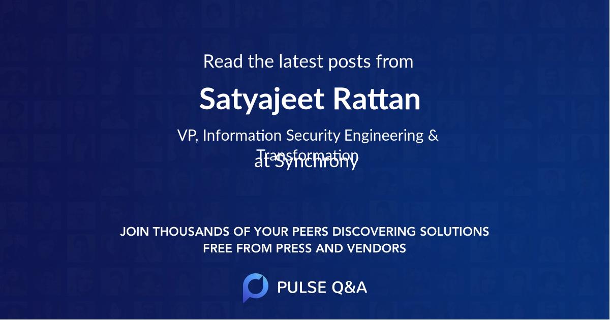 Satyajeet Rattan