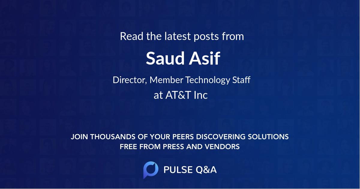 Saud Asif