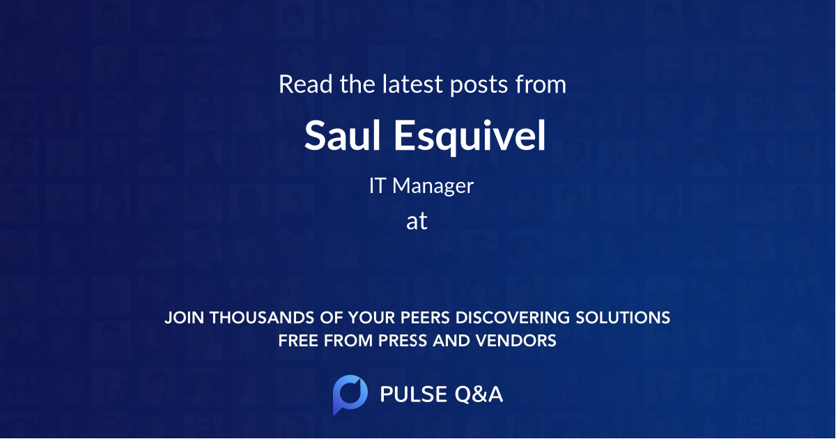 Saul Esquivel
