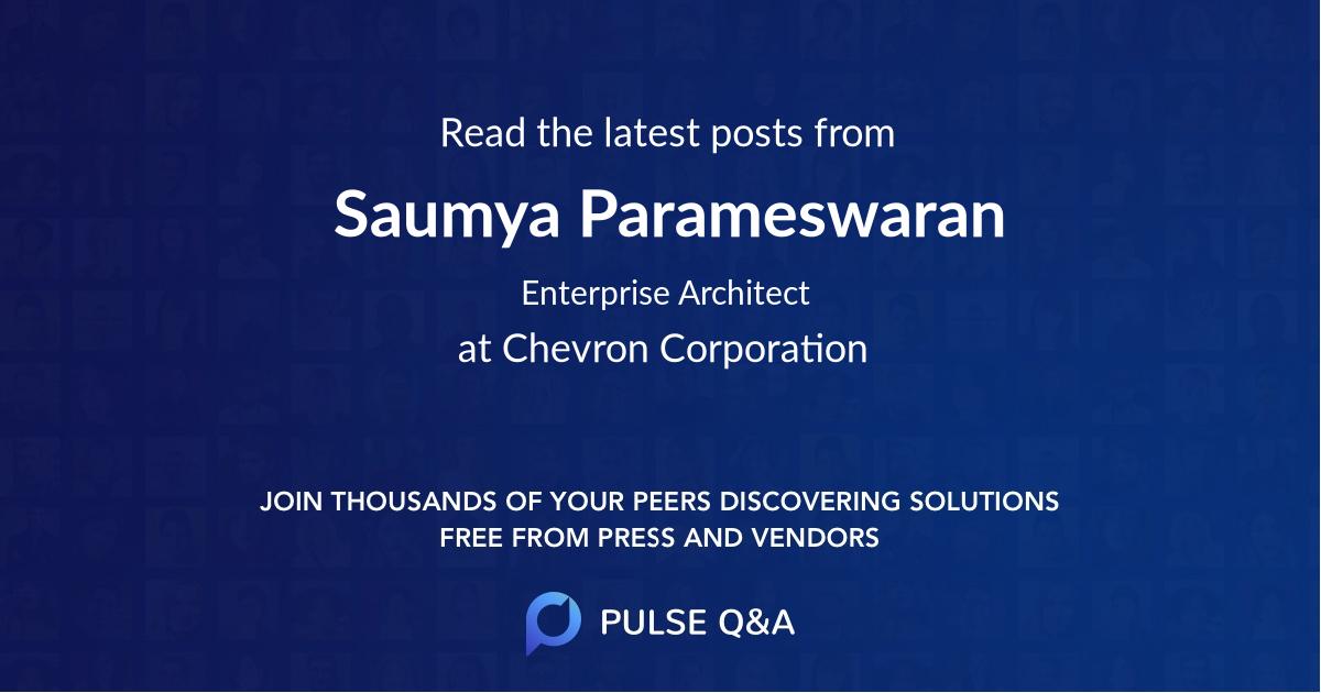 Saumya Parameswaran