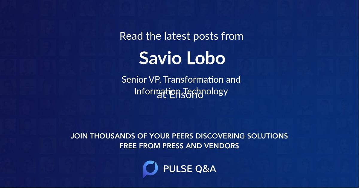 Savio Lobo