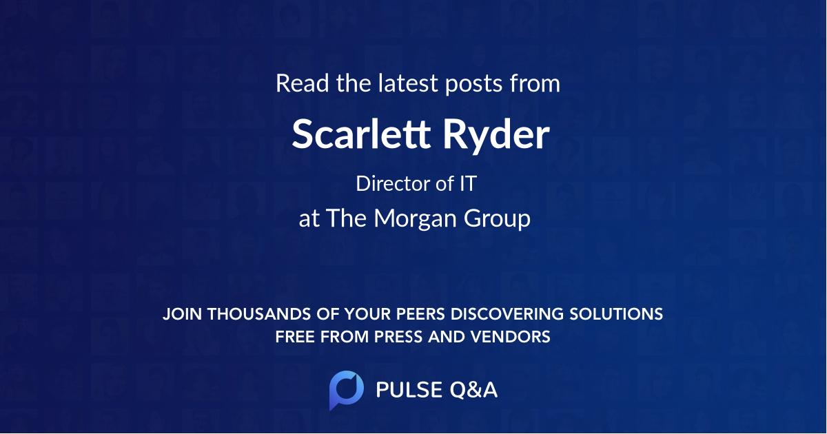 Scarlett Ryder