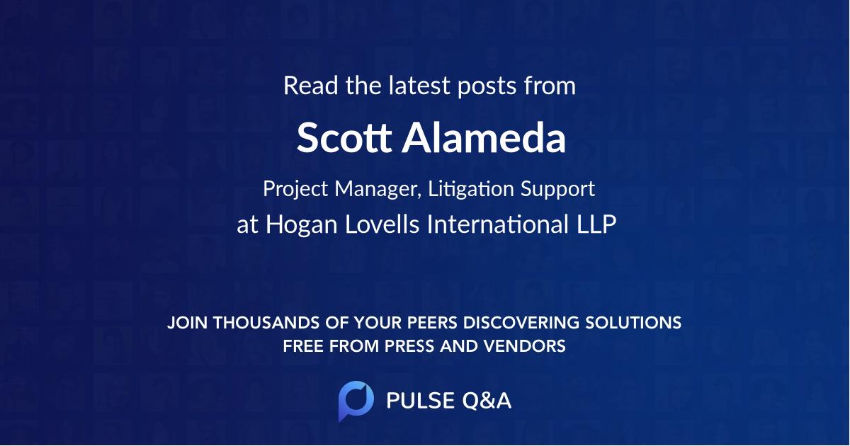 Scott Alameda