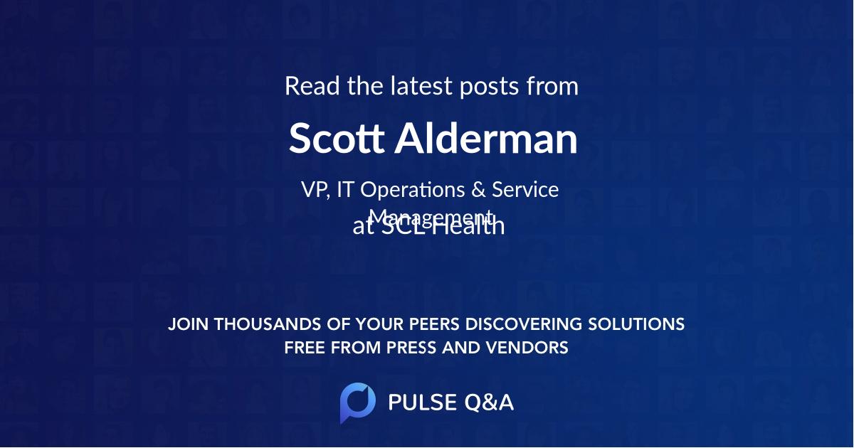 Scott Alderman