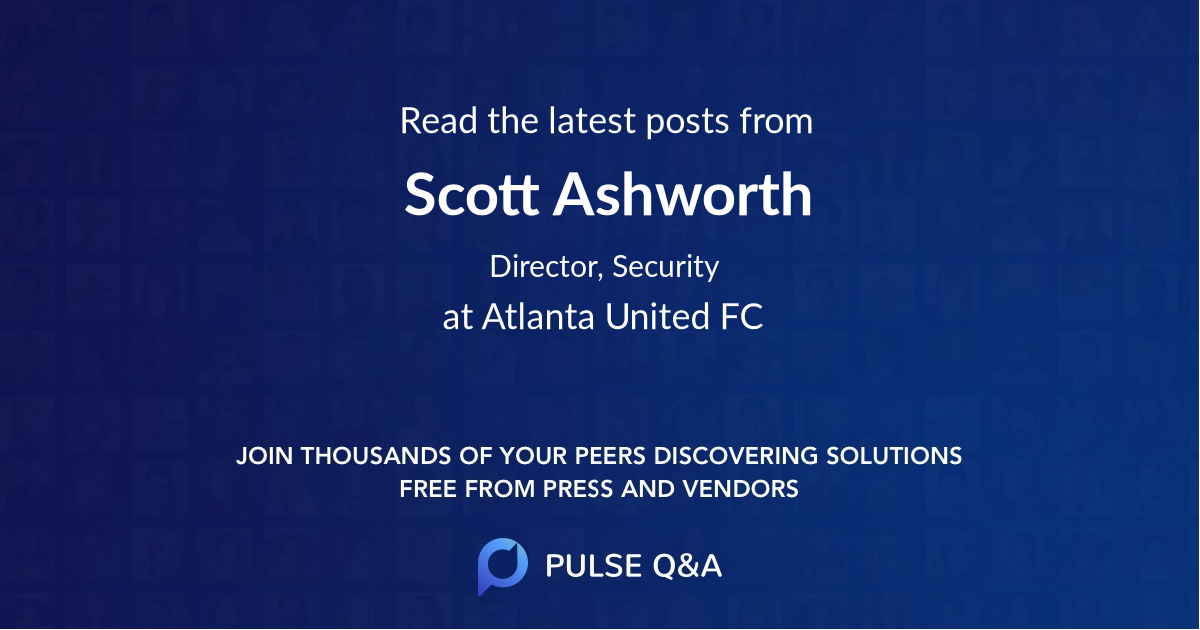 Scott Ashworth