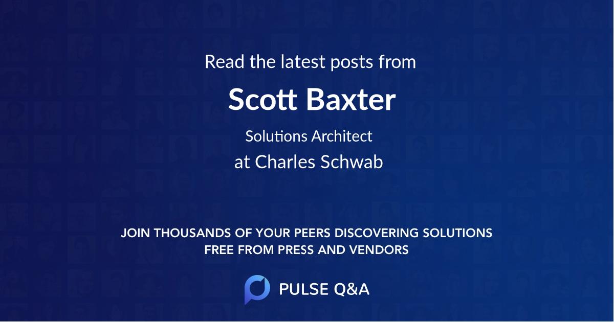 Scott Baxter