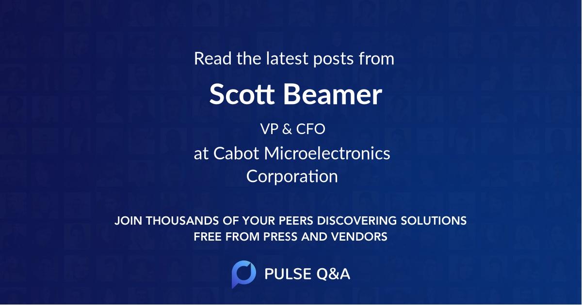 Scott Beamer
