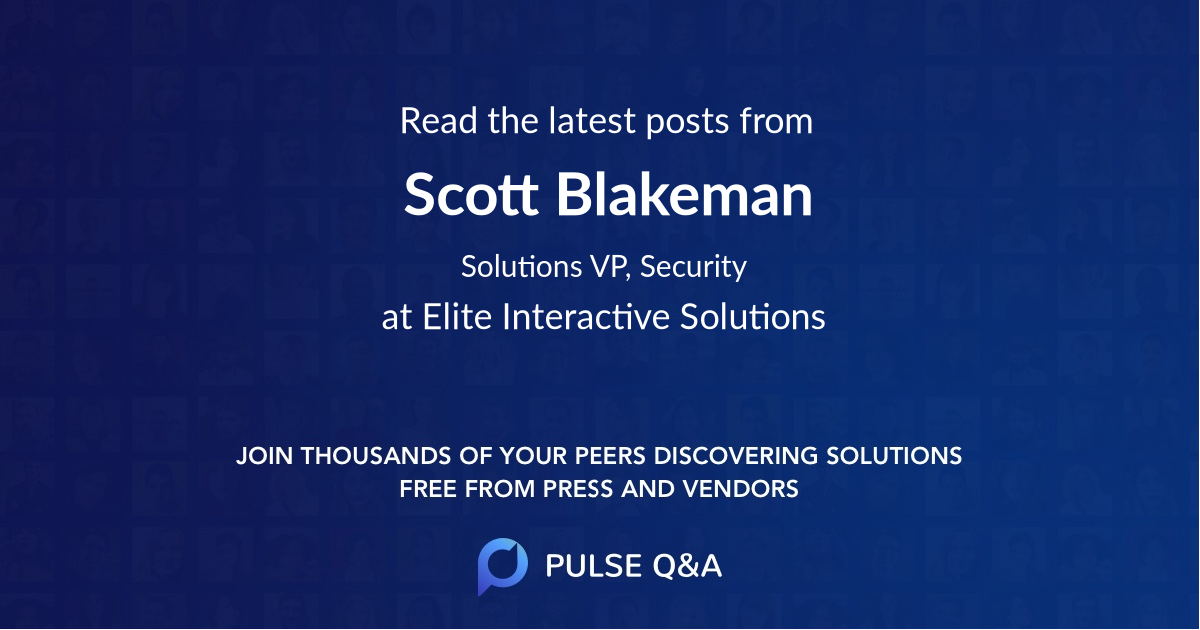 Scott Blakeman