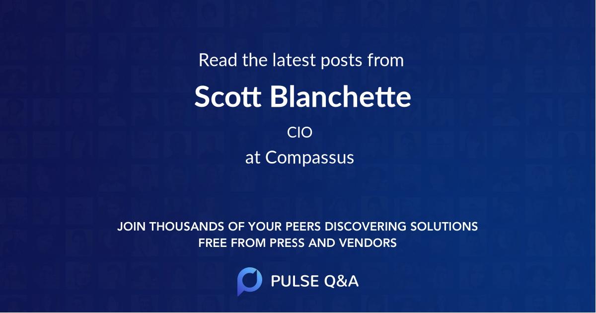 Scott Blanchette