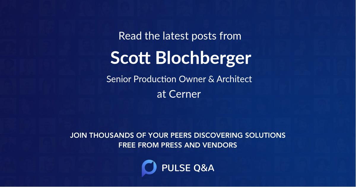 Scott Blochberger