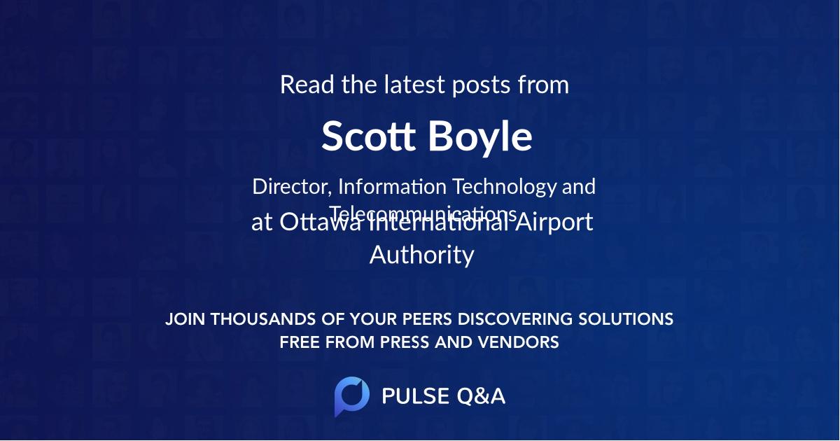 Scott Boyle