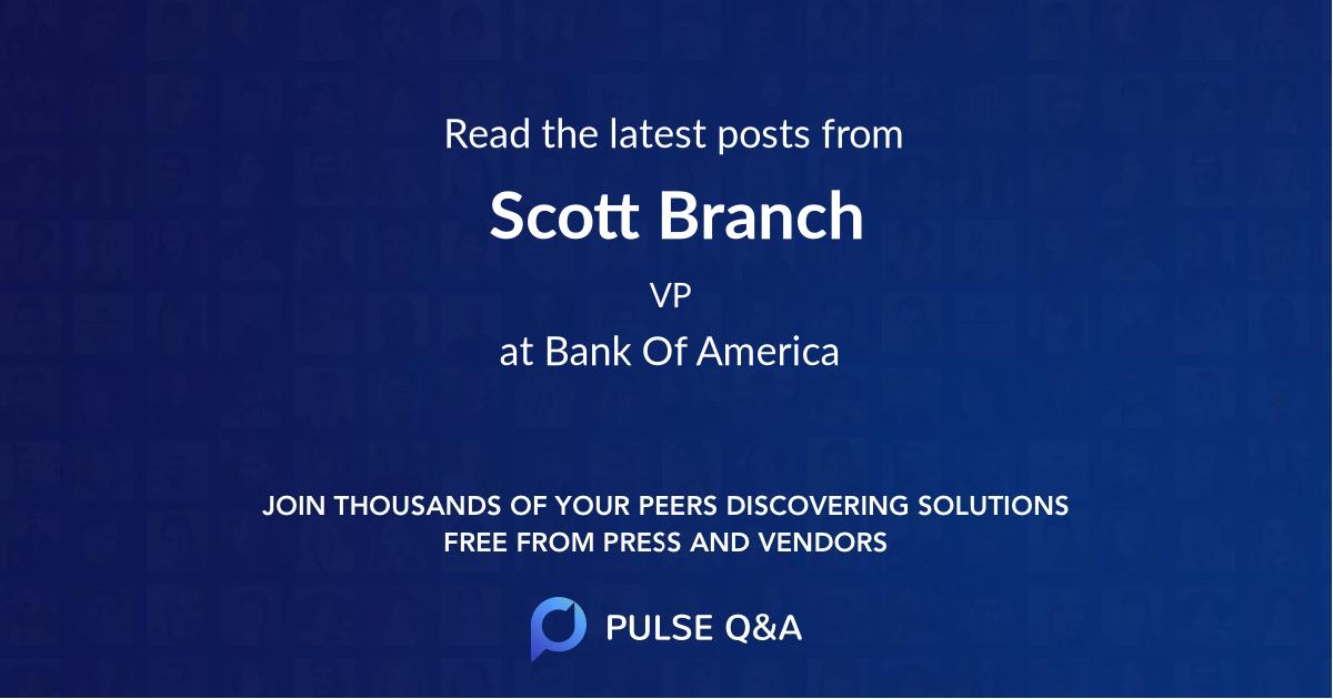 Scott Branch