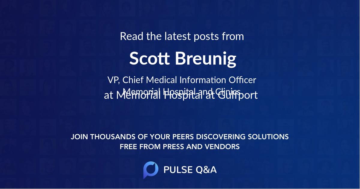 Scott Breunig