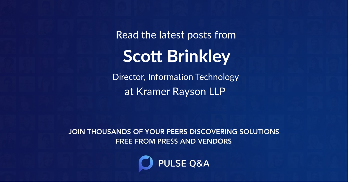 Scott Brinkley