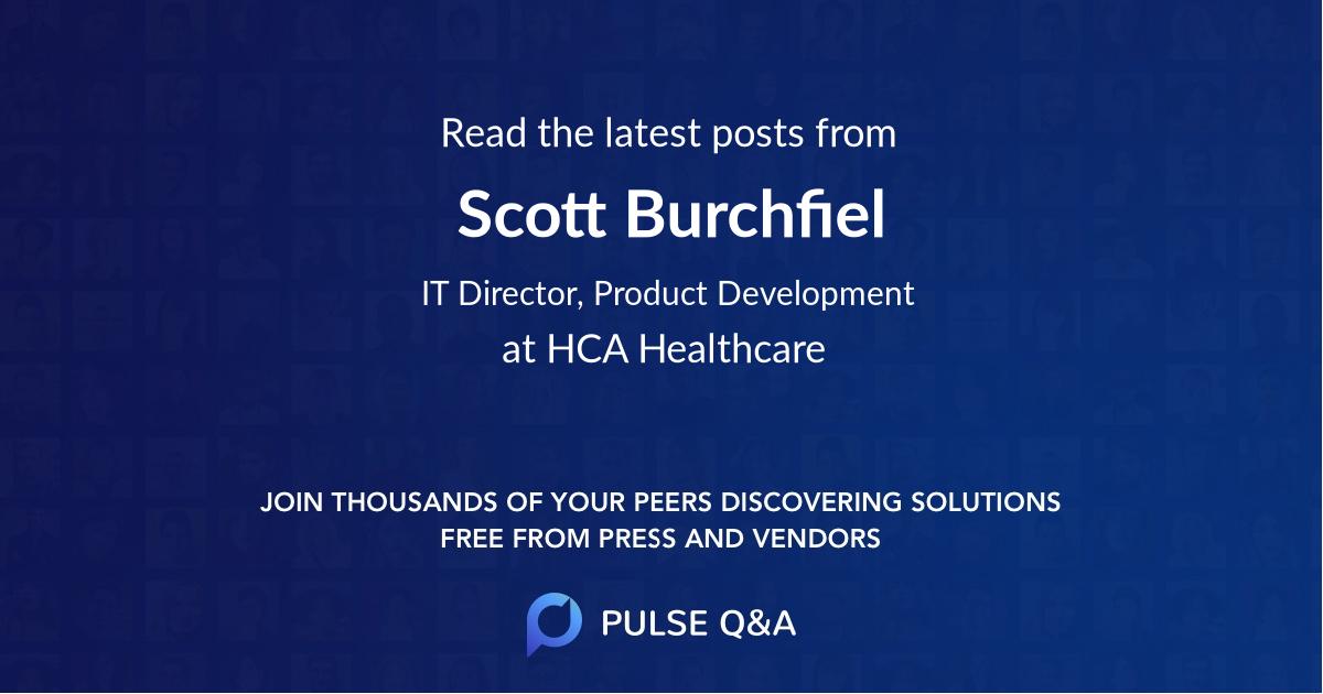 Scott Burchfiel