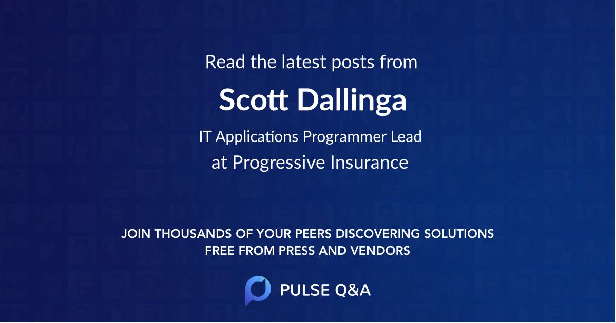 Scott Dallinga