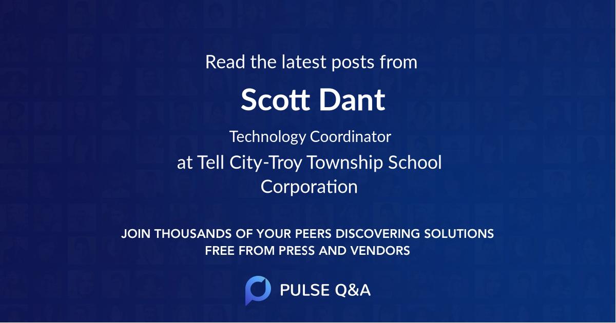 Scott Dant