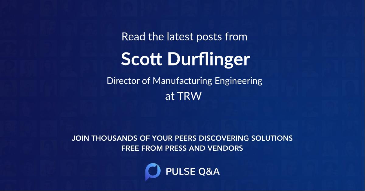 Scott Durflinger