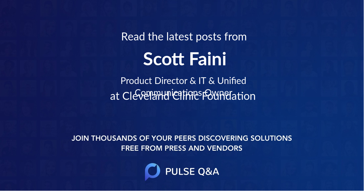 Scott Faini