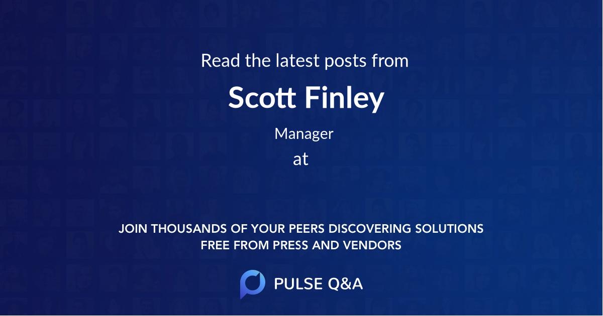 Scott Finley