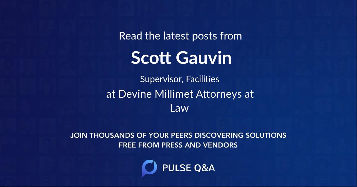 Scott Gauvin