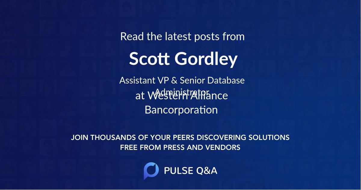 Scott Gordley
