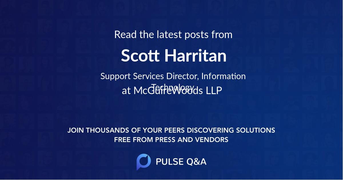 Scott Harritan