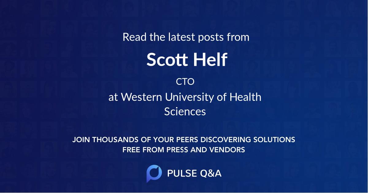 Scott Helf