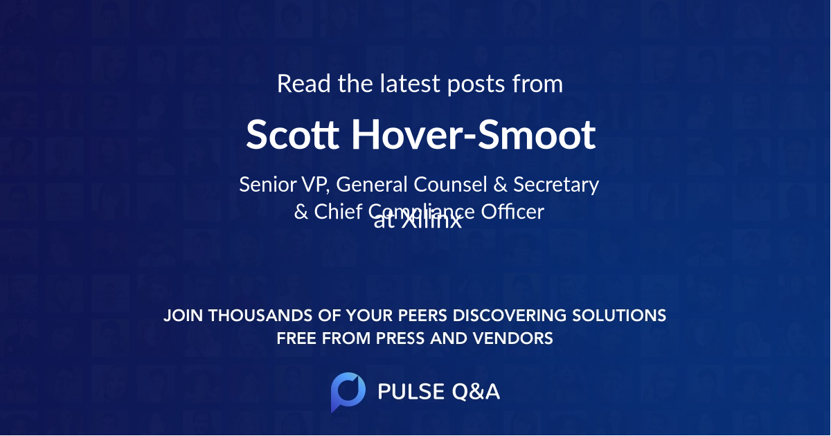 Scott Hover-Smoot