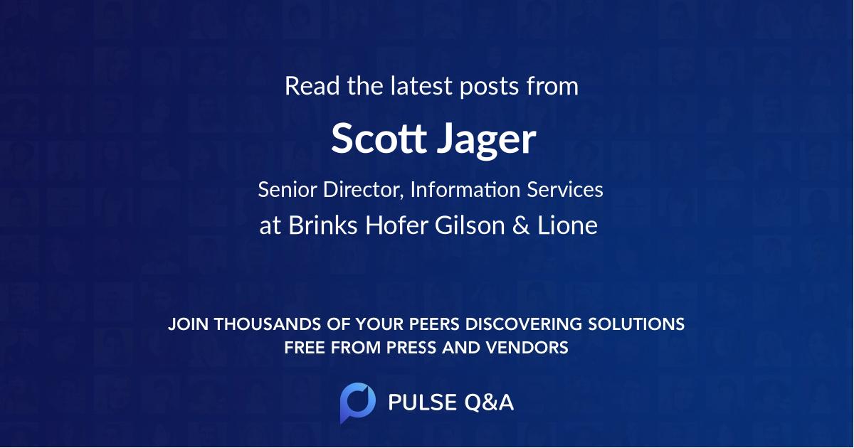 Scott Jager