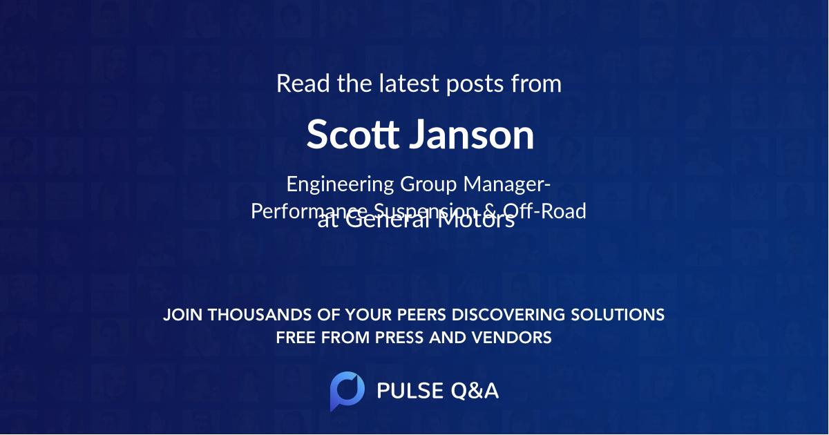 Scott Janson