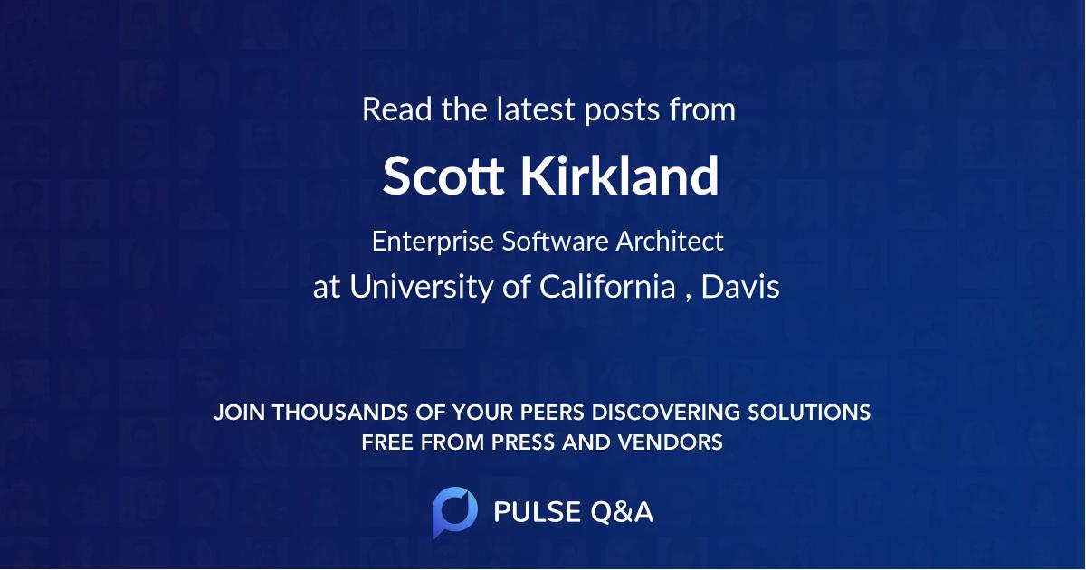 Scott Kirkland